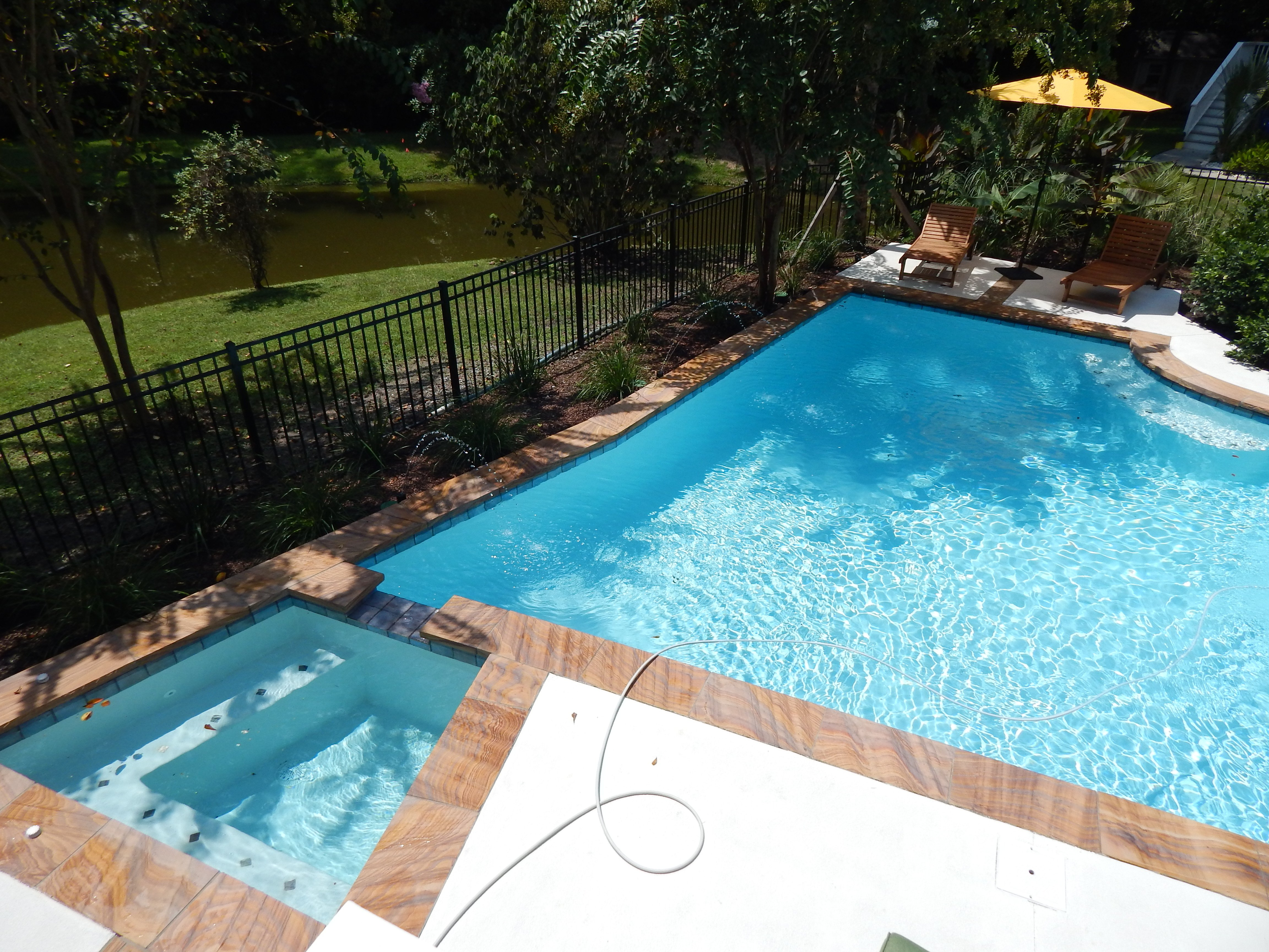 Emerald Pools Pool Photos Plano Custom Pool Design