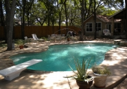 Diving Pool with Deck Jets